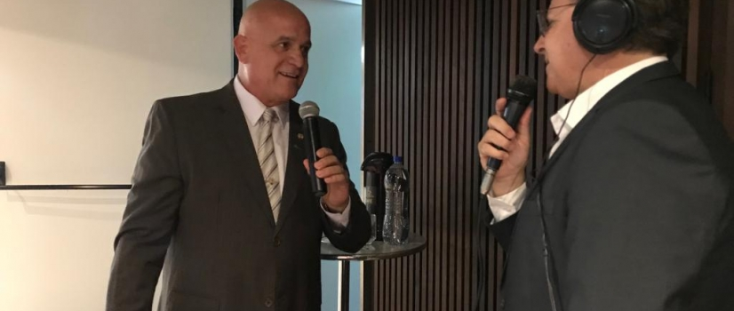 Homenagem ao Sr. José Altair Back na comemoração dos 75 anos de história de ACIC Criciúma