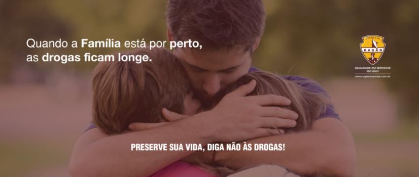 """Campanha – """"Preserve sua vida, diga não às drogas"""""""