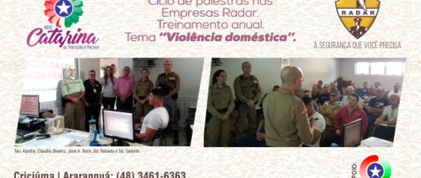 Ciclo de Palestras nas Empresas Radar da Rede Catarina / PMSC