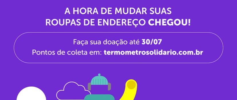 CAMPANHA TERMÔMETRO SOLIDÁRIO!